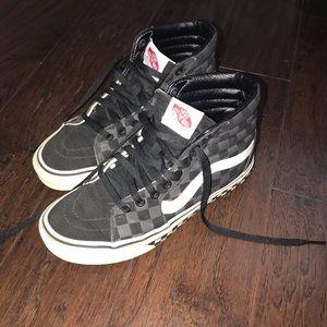 Vans SK8-Hi Custom Designed Shoes, Size 5.5M/7W